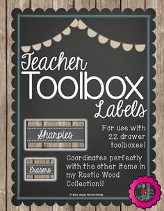 Farmhouse decor is THE style right now.thanks to the amazing Joanna Gaines. So, why not add that same Fixer Upper rustic flair to your classroom? These completely EDITABLE labels are designed to loo Classroom Setup, Classroom Design, Future Classroom, School Classroom, Classroom Organization, Classroom Libraries, Classroom Management, Classroom Board, Classroom Labels