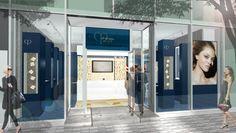 クレ・ド・ポー ボーテの期間限定ストアが表参道ヒルズにオープン!  Store on Voyage表参道外観  strategic planning + creative idea