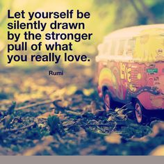 "3,938 Likes, 17 Comments - Elephant Journal (@elephantjournal) on Instagram: """"Let yourself be silently drawn by the stronger pull of what you really love."" ~ Rumi. Read more…"""