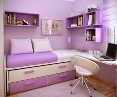 Bedroom Ideas For Teenage Girls With Medium Sized Rooms jasa desain tempat tidur anak | desain furniture | pinterest