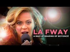 Bad Lip Reading Of Beyonce - #funny