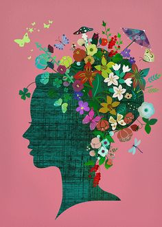 Flower Power Portrait