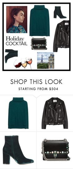 """""""Без названия #398"""" by non-mi-piace ❤ liked on Polyvore featuring Jadicted, Lonely Planet, Acne Studios, Gianvito Rossi and Fendi"""