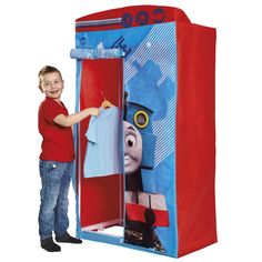 THOMAS & FRIENDS FABRIC WARDROBE BEDROOM FURNITURE NEW OFFICIAL ...