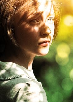 Saoirse Ronan as Briony Tallis in ATONEMENT – amazing performance for someone so young