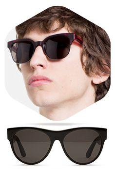 SUPER Mens Sunglasses, Eye, Fashion, Moda, Fashion Styles, Men's Sunglasses, Fashion Illustrations