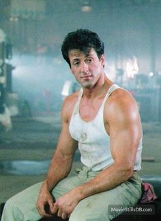 Lock Up - Publicity still of Sylvester Stallone Rocky Series, Rocky Film, Sylvester Stallone Rambo, Stallone Rocky, Silvester Stallone, Hollywood Men, Rocky Balboa, The Expendables, Tough Guy