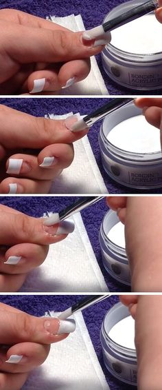 Fake nails made out of straws first you get a straw and cut it so diy acrylic nails skip the salon and do it yourself easy nail art tutorial you can do at home by diy ready at httpdiyreadydiy acrylic nails solutioingenieria Images