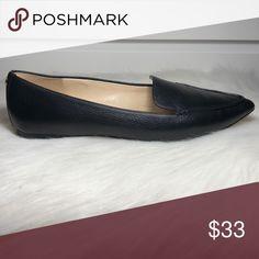 4aab53fd6ce Karl Lagerfeld Black  Destine  Flats • Pointed loafer flats • Black leather  • Worn