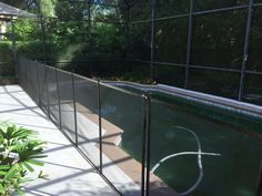 Heathrow Pool Safety Fence - Customers looking for quality always find Baby Barrier Pool Safety Fence to be the top choice for pool safety at their home! #PoolFence #PoolSafety #BabyBarrier