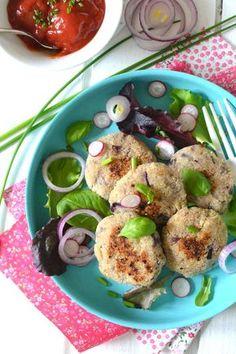Bouchées Végétales aux Oignons Rouges http://www.lesrecettesdejuliette.fr #végétal #vegan #salé
