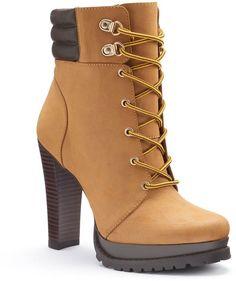 Jennifer Lopez Women's Platform High Heel Ankle Boots