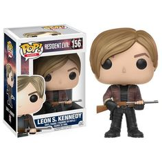Vinyl Figure:The classic video game franchise Resident Evil is joining the Pop! Packaged in a window display box, the Resident Evil Leon Kennedy Pop! Vinyl Figure measures approximately 3 tall. Leon S Kennedy, Jill Valentine, Star Trek Enterprise, Star Trek Voyager, Pop Vinyl Figures, Action Toys, Action Figures, Resident Evil Toys, Otaku