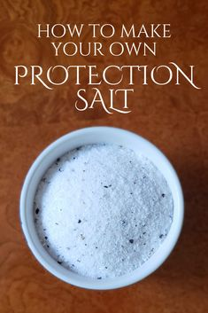 How to Make Your Own Protection Salt — Kajora Lovely