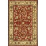 Chandra Rugs - Adonia Red Rugs - ADO905  SPECIAL PRICE: $858.00