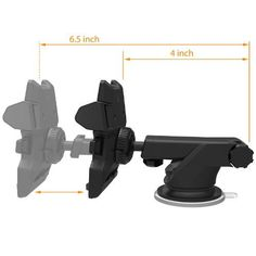 nice iOttie Easy One Touch 2 Car Mount Holder for iPhone 6s Plus 6s 5s 5c Samsung Galaxy S7 Edge S6 S5 Note 5
