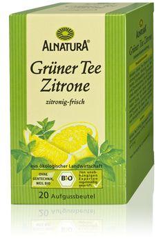 Alnatura - Grüner Tee Zitrone