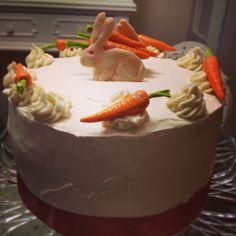 Crema de la crema pastel de zanahoria