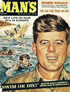 JFK as war hero