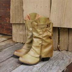 Indian Creek Cuffed Boots, Sweet Country Inspired Shoes