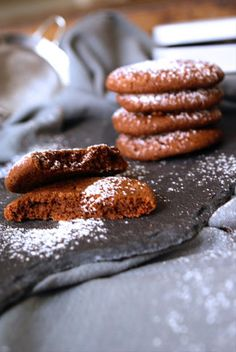 Chocolate cookies with Ras-el-Hanout