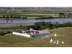 fort union trading post   Fort Union Trading Post National Historic Site on the Missouri River ...