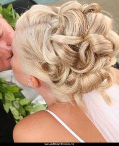 wedding updos for bridesmaids - Bing Images brides hair