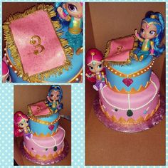 Shimmer And Shine Cake Shimmer And Shine Party