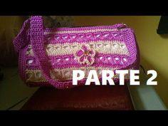 BOLSA TEJIDA A CROCHET PUNTO PERUANO (PARTE 1 DE 3) - YouTube