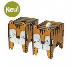 Twin-Box von Werkhaus: Stecksystem-Set als Spardose oder Stiftbox verwendbar