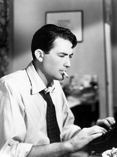 """Gregory Peck in """"Gentleman's Agreement"""" directed by Elia Kazan. Old Hollywood Actors, Hollywood Icons, Golden Age Of Hollywood, Hollywood Stars, Classic Hollywood, Vintage Hollywood, Gregory Peck, Classic Movie Stars, Classic Movies"""