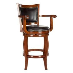 Safavieh Gitan 29 in. Swivel Bar Stool - FOX7009C