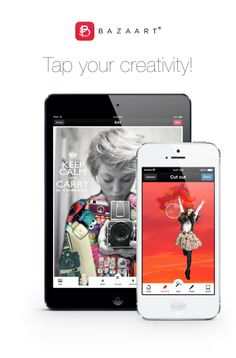 Bazaart - Tap your creativity! Bazaart is a fun and easy way to make amazing collages.