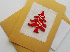 Kerstkaart 'Christmas Tree' van FromHelloToGoodbye op Etsy