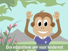 Een educatieve app voor kinderen: 'Mijn Eerste Mobieltje' - Waarom een app voor kinderen? - Het personage: Monti de Aap -  Over de app.