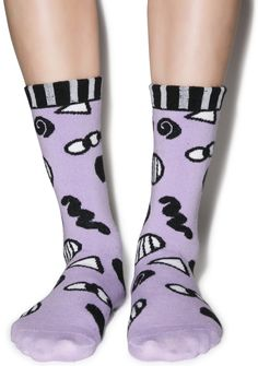 Lazy Oaf Eye Eye Socks | Dolls Kill