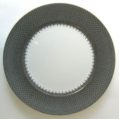 Black Lace Service Plate from Mottahedeh in Yardley, PA from Pink Daisy