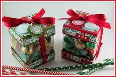 Stampingwithamore: Christmas Noel View-Thru Box