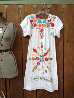 Handembroidery Mexican/Oaxacan Dress by ReynasCloset on Etsy, $39.00