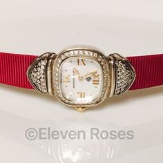 david yurman sterling silver diamond capri watch