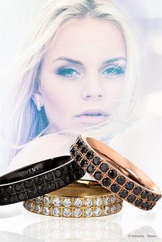 Farbkompositionen zum Verlieben - lassen Sie sich von unserer Eternity Kollektion verzaubern. #jewelery