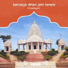 The Kaivalya Dham Jain Temple located at Raipur, Chhattisgarh, is also popular as Shri Adinath Jain Shwetambar Tirth. This famous Jain mandir houses the idols of all the 24 Tirthankaras. As an architectural masterpiece, the Kaivalya Dham Jain Temple also houses a well-equipped Dharamshala. #PurePractices