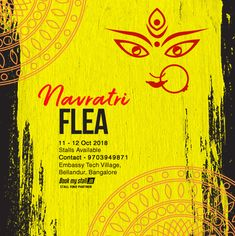 Navratri Flea @ Embassy Tech Village whatsapp or Call ☎️ 9703949871 for stall booking Navratri Images, Exhibition Stall, Catapult, Flea Markets, Stalls, Poster On, Fleas, Exhibitions, My Books