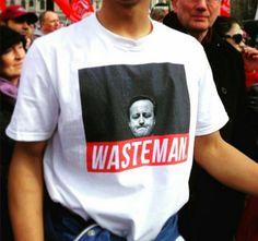Wasteman Cameron X Bowl Cut Garms t-shirt  www.bowlcut.uk  #davidcameron #cameron #wasteman #bowlcutgarms #bowlcutclothing