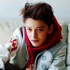 stranger than fiction — Noah Schnapp for RAW (2017)