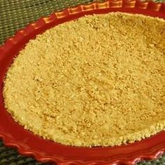 This no-bake pie crust recipe uses softened butter instead of melted butter, producing a better consistency.