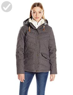 Roxy SNOW Junior's Nancy Insulated Jacket, Charcoal Heather, L - All about women (*Amazon Partner-Link)
