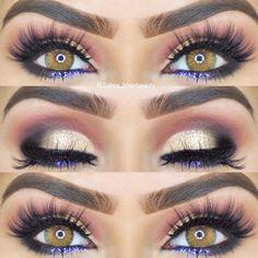 Gorgeous Makeup: Tips and Tricks With Eye Makeup and Eyeshadow – Makeup Design Ideas Eye Makeup Glitter, Hazel Eye Makeup, Blue Eye Makeup, Smokey Eye Makeup, Prom Makeup, Smoky Eye, Glitter Hair, Cool Makeup Looks, Gorgeous Makeup