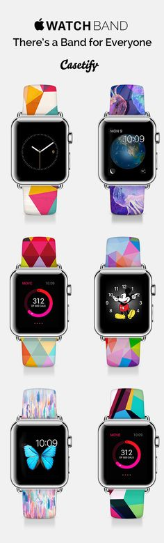 Who else just received the #AppleWatch? Pimp up your Apple Watch with @casetify! You can customize your band or shop our Artist Collection! Shop here now: http://bit.ly/1GaATzU