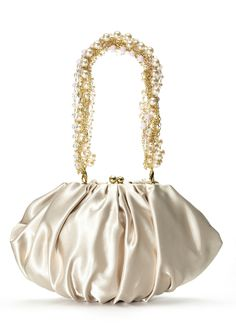 Beautiful purse with pearls!